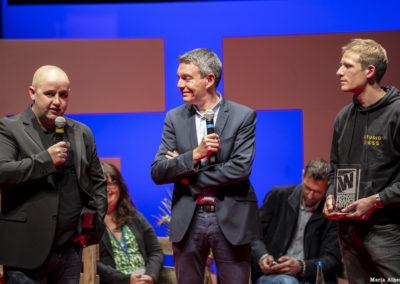 Jean Marie Poupart avec Christophe Marchais